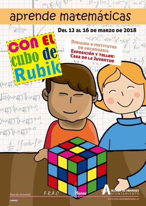 cartel matematicas y rubik
