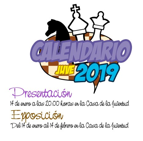 invitacion calendario ajedrez 2019